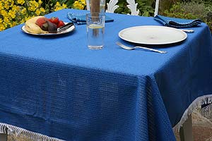 Do It Yourself Velcro Tablecloth Around an Umbrella | eHow.com