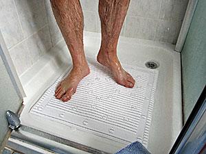 Antimicrobial Slip Resistant Shower Mat Isagi